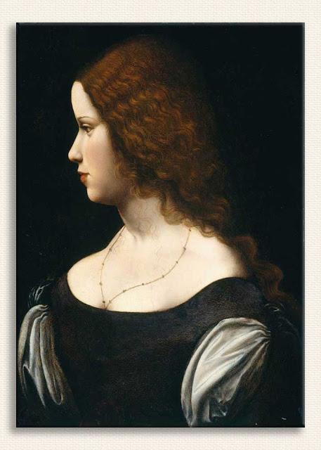 Leonardo Da Vinci Genç Bayanın Portresi