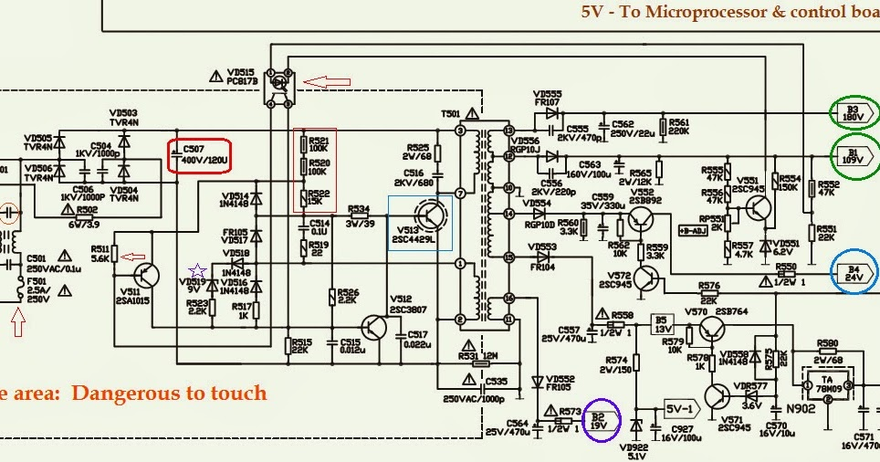 HOW TO TROUBLESHOOT AN SMPS POWER SUPPLY - Transistor Based Circuit ...