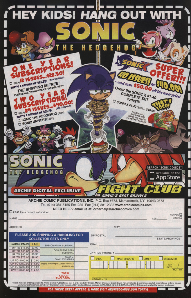 Read online Sonic The Hedgehog comic -  Issue #239 - 26