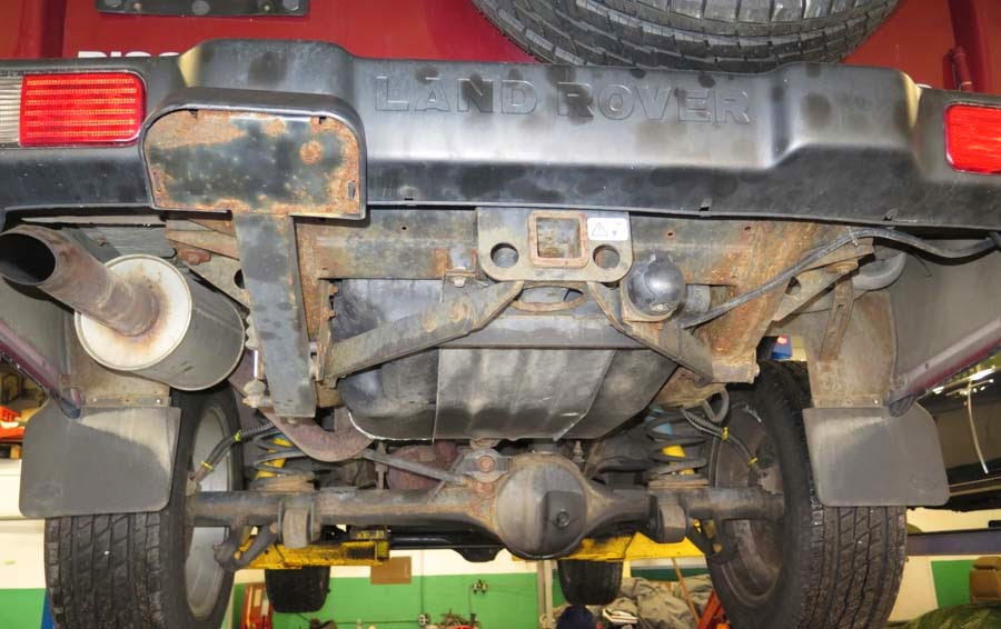 Frame Rust In Land Rover Discovery Ii Models An Achilles
