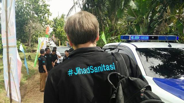 Warga 6 Desa di Pringsewu Deklarasikan Pasukan #JihadSanitasi