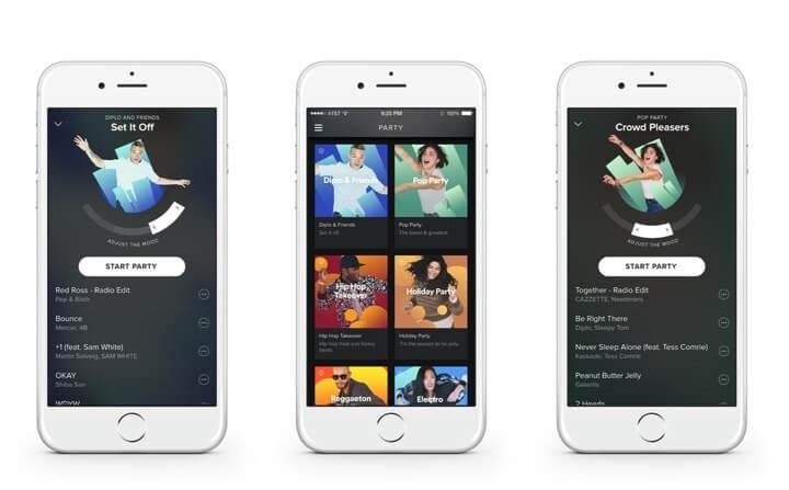 Aplikasi Spotify untuk iPhone