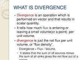 What is a Divergence?