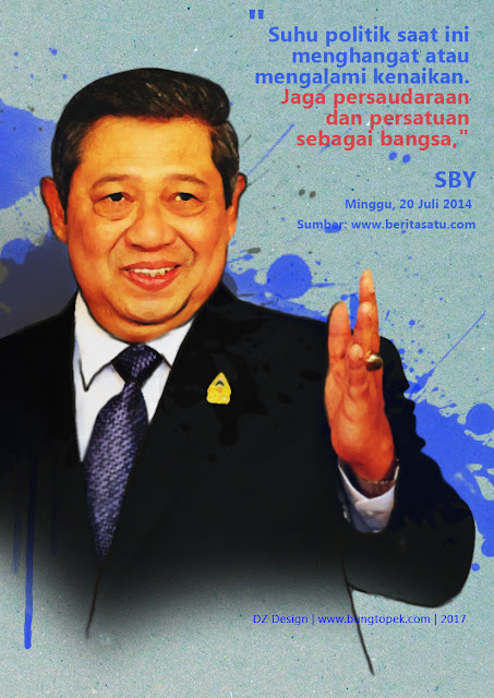 Sketch Painting Bapak SBY