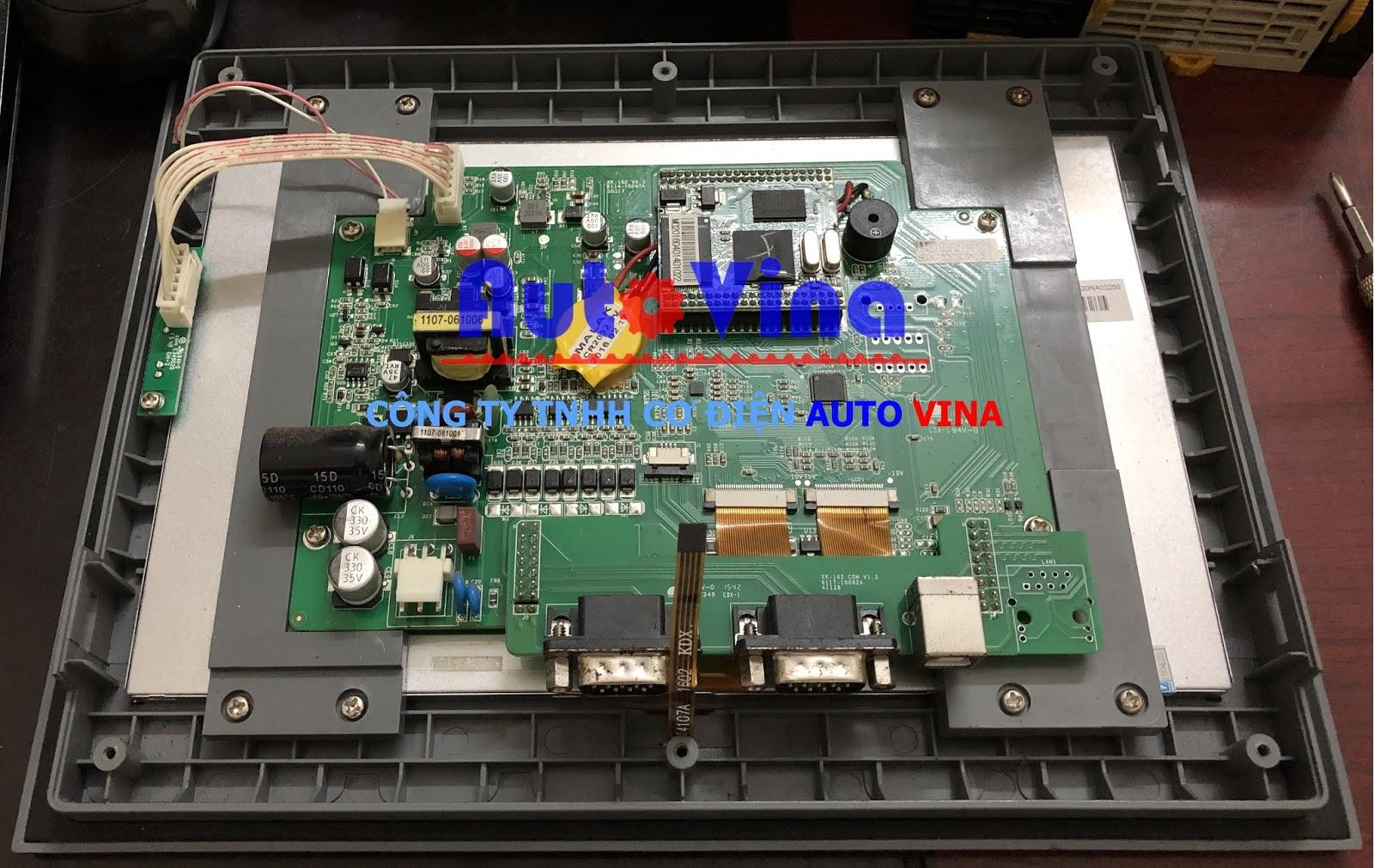 Sửa Board mạch màn hình HMI Samkoon SA-102A, sửa màn hình Samkoon không lên nguồn
