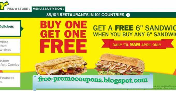 subway printable coupons canada 2019