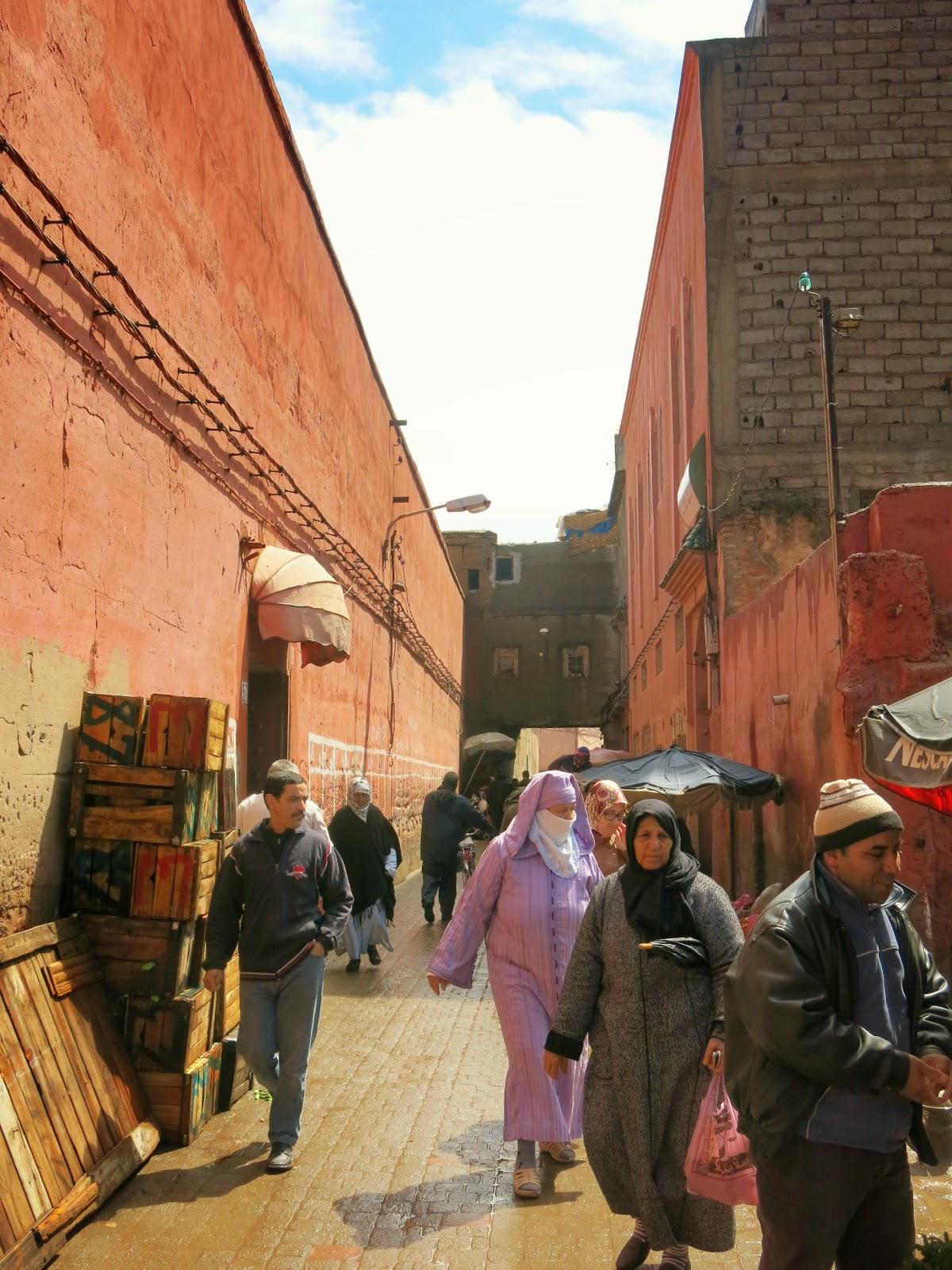 Souken i Marrakesh