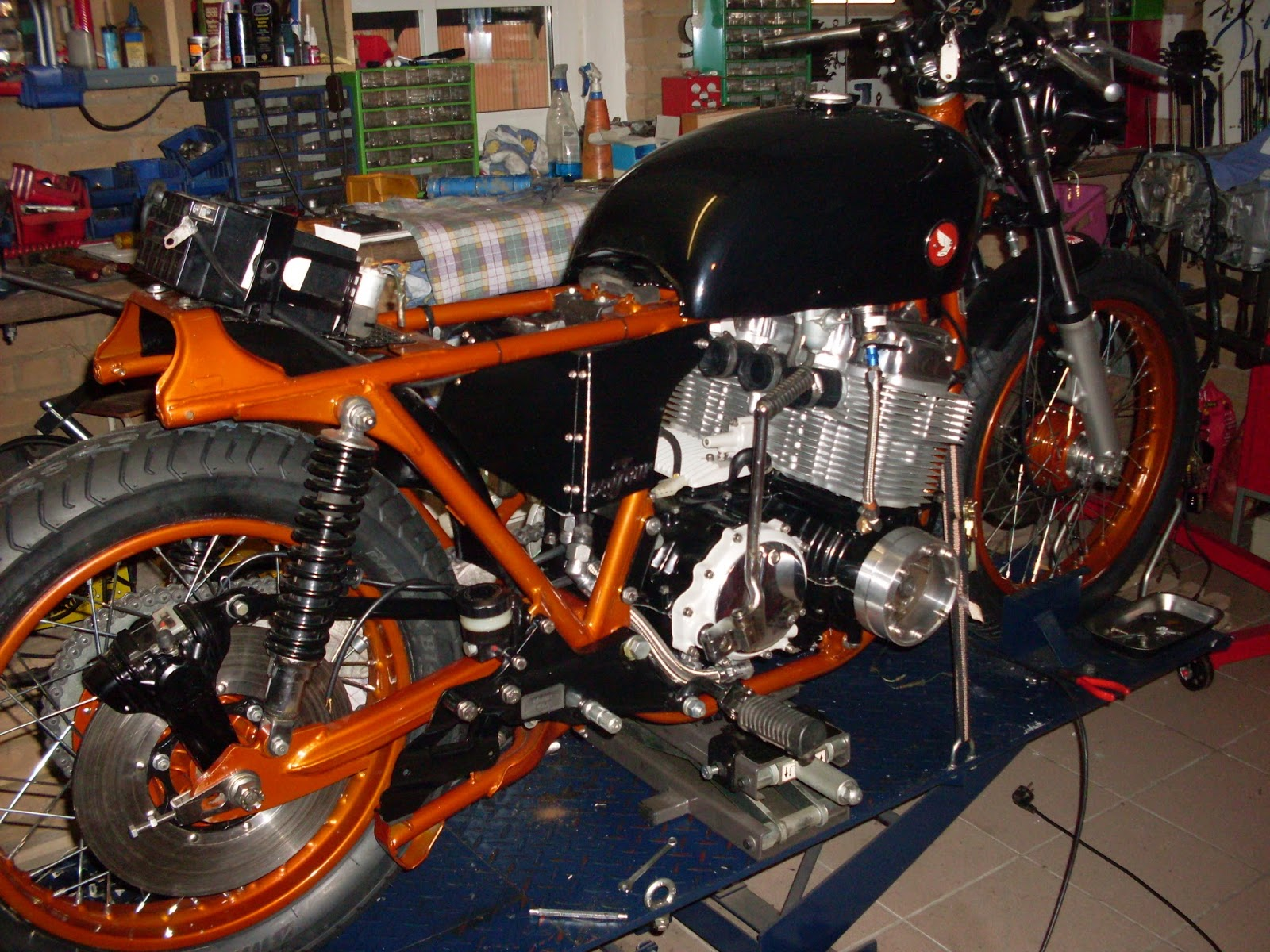 Myhondacb750four Honda Cb 750 Four T9 Cafe Racer