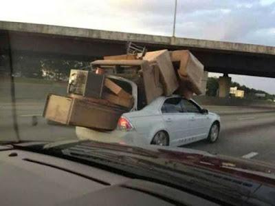 Tout déménager avec sa voiture, vraiment ?