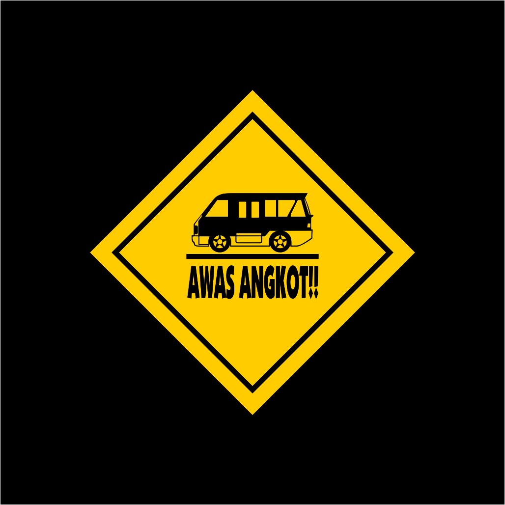 Awas Angkot Logo Free Download Vector CDR, AI, EPS and PNG Formats