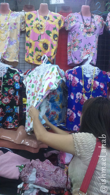 Buying Nice Clothes in BAGPI Garment Center of Taytay, Tiangge