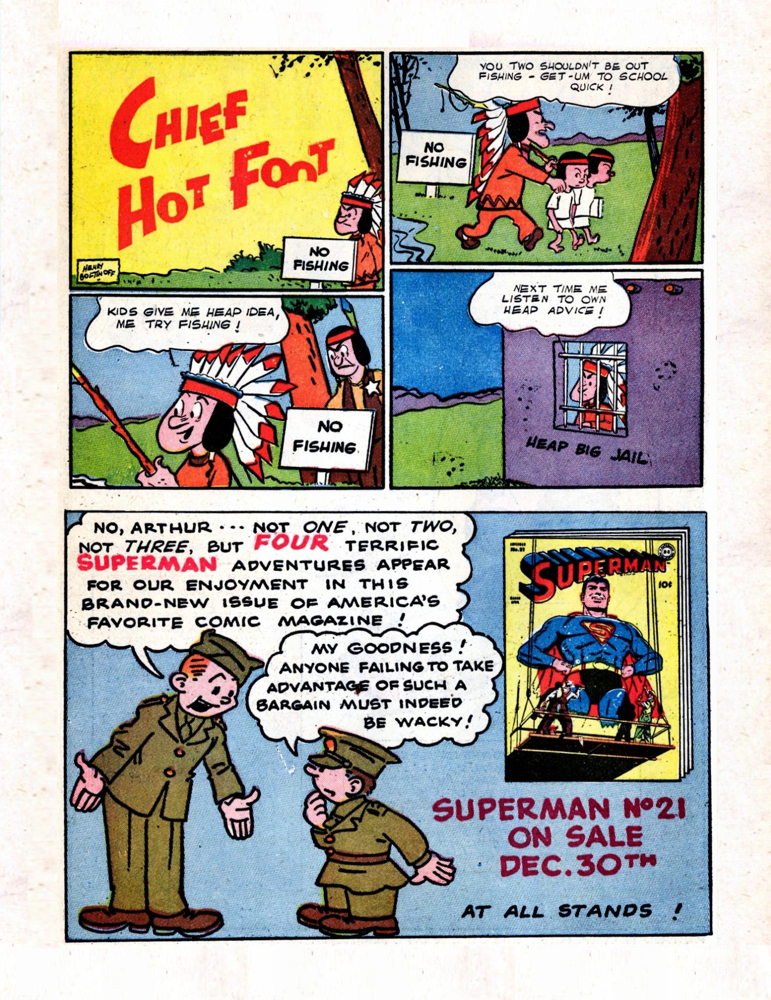 Read online Action Comics (1938) comic -  Issue #57 - 18