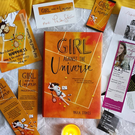 girl against the universe by paula stokes bookstagram swag