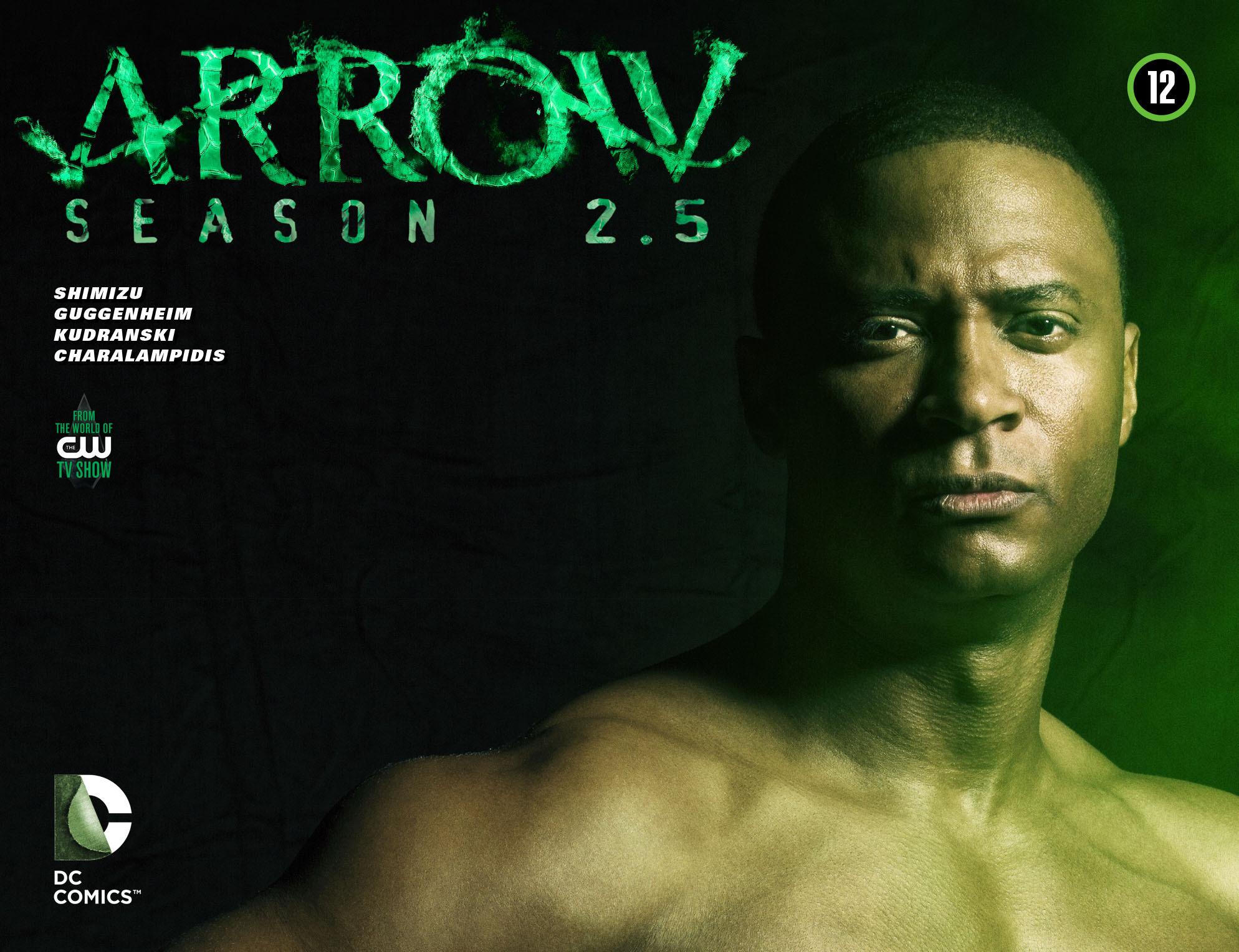 Read online Arrow: Season 2.5 [I] comic -  Issue #12 - 1
