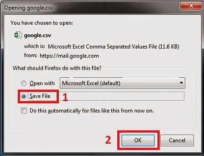 Gmail Export To CSV 4