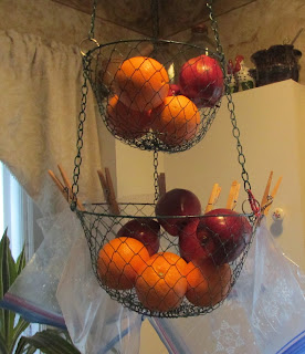My Top Goals for the Week 2/1/16- My fruit basket