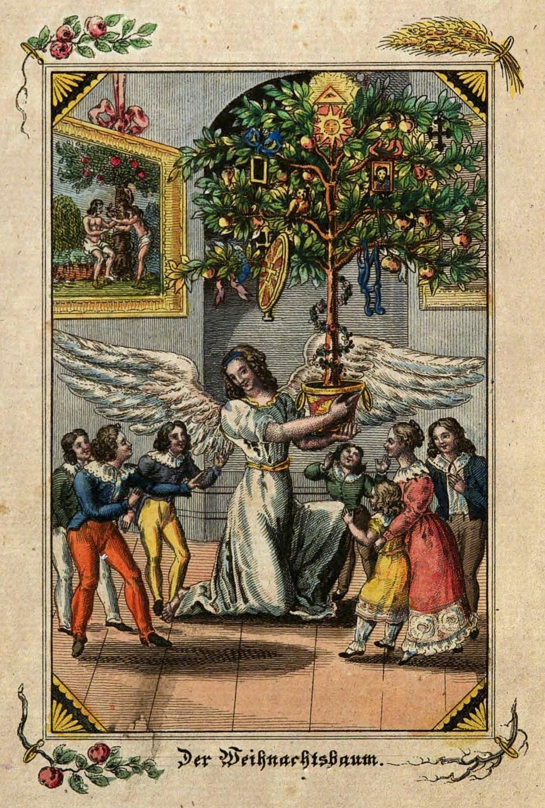 Pre-Gébelin Tarot History: Luther, Cranach, And Christmas