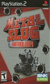 87562 metal slug anthology playstation 2 front cover - Metal Slug Anthology PS2 DVD (NTSC)