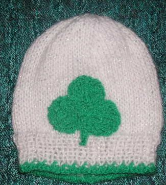 26c7cae09a8 Knitting Galore  Lucky Shamrock Baby Set.