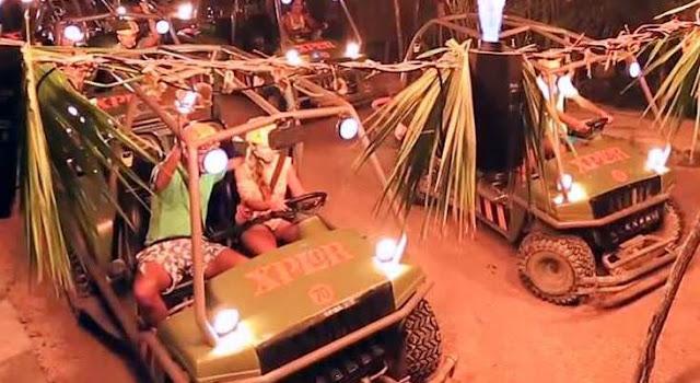 Veículos Anfíbios no Parque Xplor em Cancún