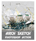 \  - archsk - Quick Sketch Photoshop Action