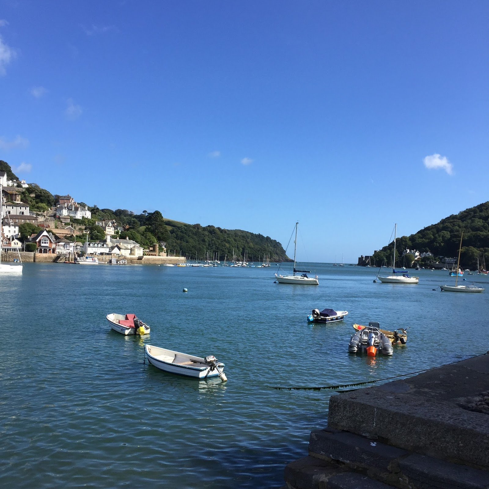 Boats at Dartmouth