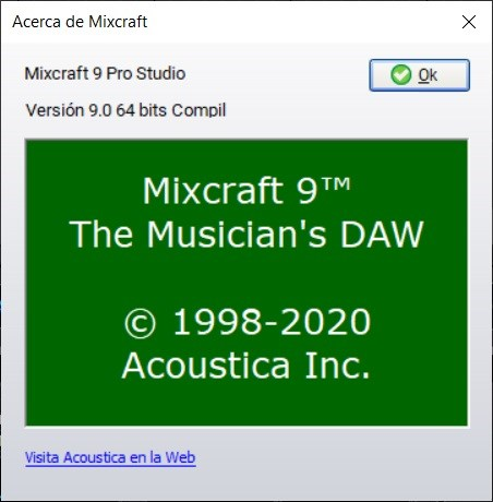 Acoustica Mixcraft Pro Studio Full