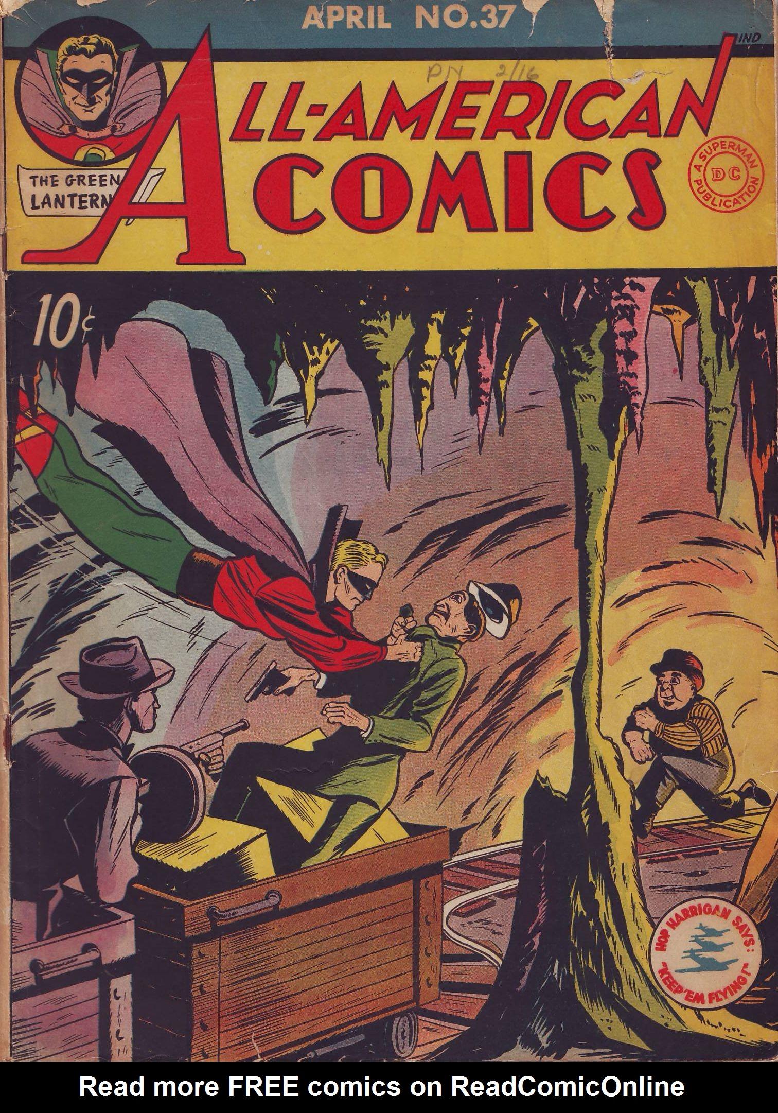 Read online All-American Comics (1939) comic -  Issue #37 - 1