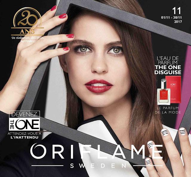 catalogue oriflame maroc novembre 2017