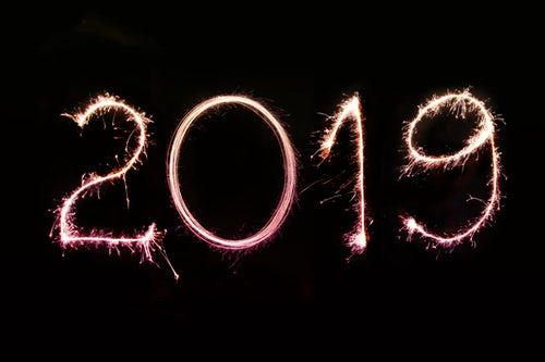 Happy New Year 2019 evening full hd Themes