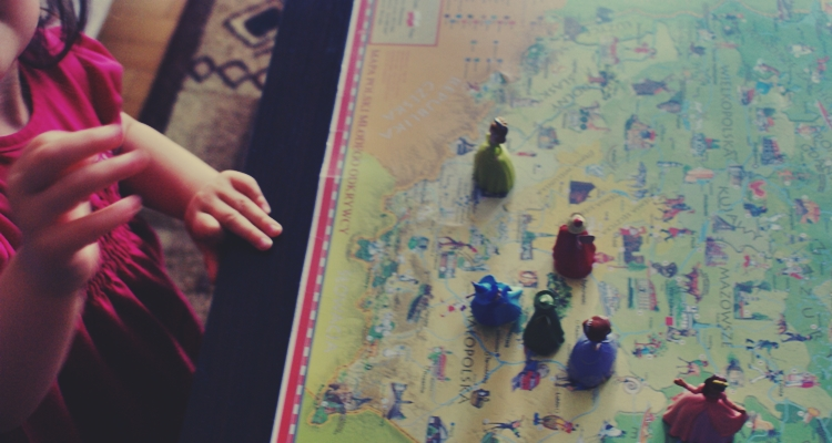 mapa podkładka na biurko