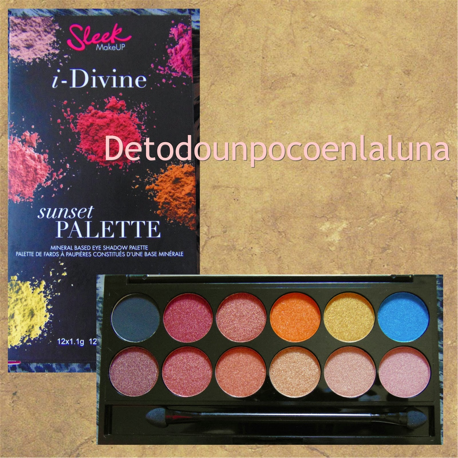 paleta sunset sleek