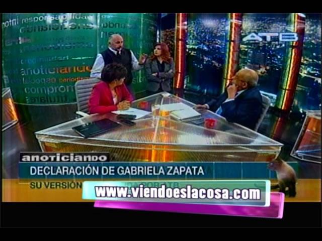 VIDEO: PRESENTADORES DE ANOTICIANDO SE PELEAN EN VIVO CON ITURRI POR ENTREVISTA A GABRIELA ZAPATA - ATB
