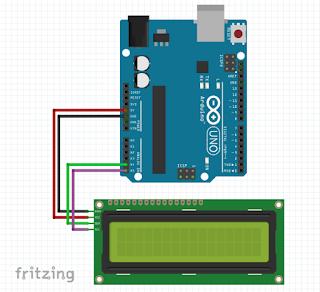 Conexión Arduino UNO con LCD i2C