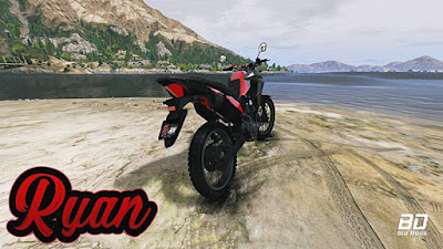 Download, mod, moto, HONDA, XRE 190, GTA 5, GTA V PC