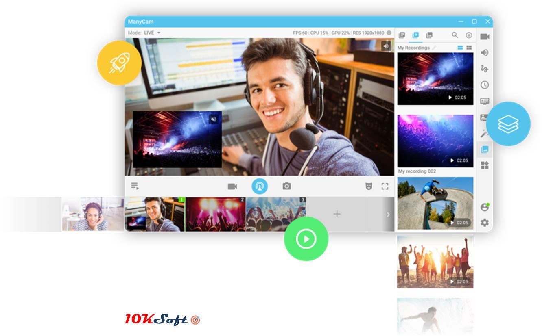 Direct Download Link of ManyCam Enterprise Latest Version