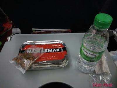 KLIA2 AirAsia Meal Nasi Lemak