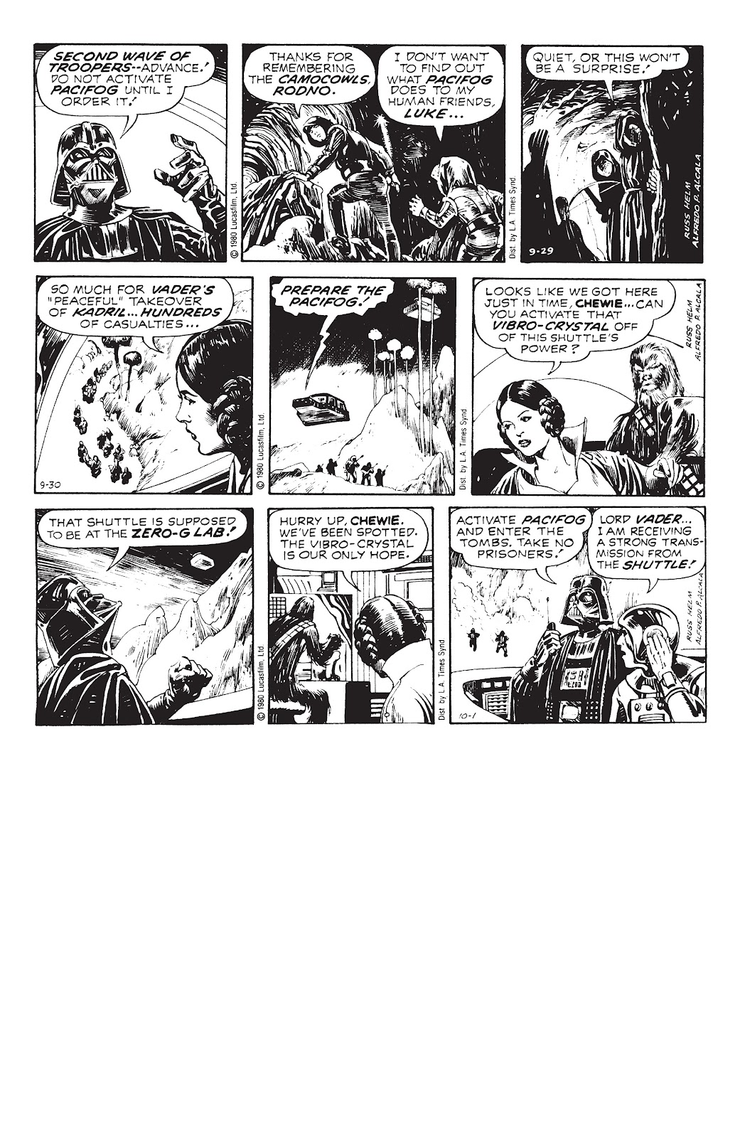 Read online Star Wars Legends: The Newspaper Strips - Epic Collection comic -  Issue # TPB (Part 4) - 2