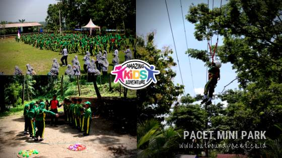 Paket Outbound Anak SD di Pacet