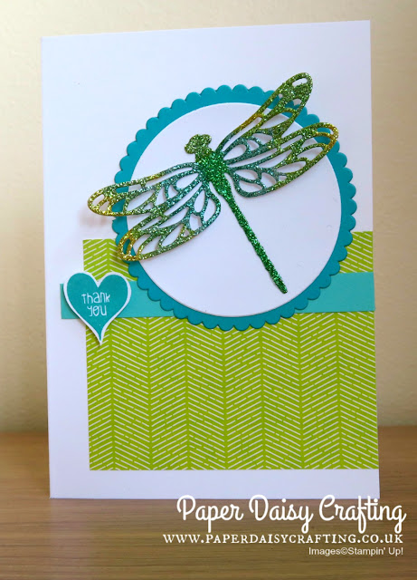 Detailed Dragonfly Thinlits from Stampin Up