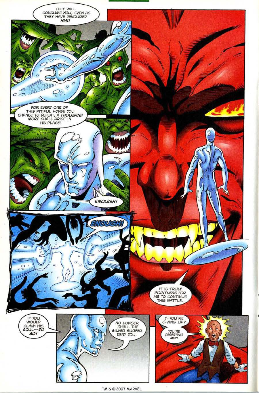 Read online Silver Surfer (1987) comic -  Issue #133 - 16