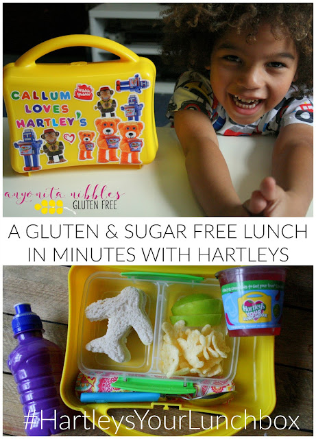 #HartleysYourLunchbox Gluten Free Sugar Free Back to School Lunch Inspiration | Anyonita Nibbles