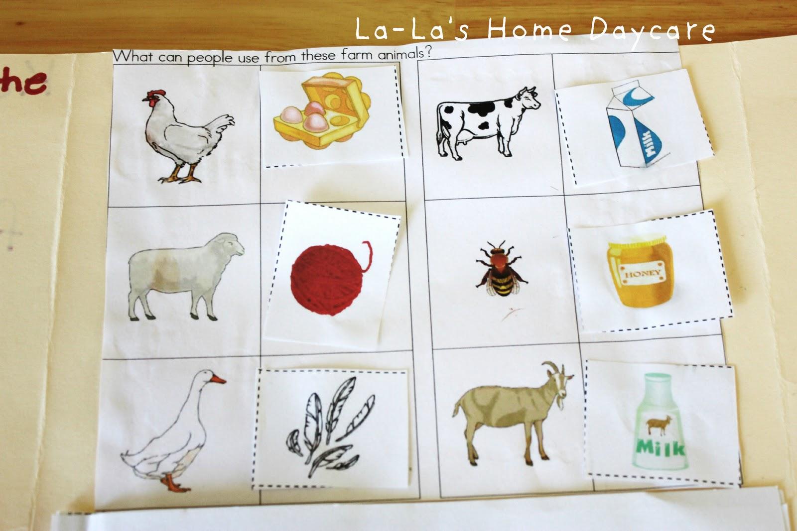 La La S Home Daycare Letter Ff