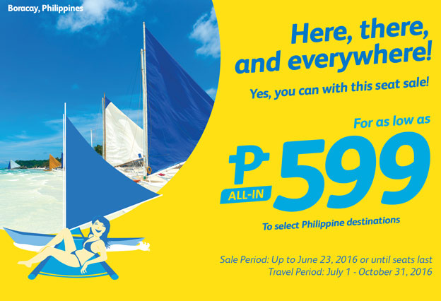 Cebu Pacific 599 Promo Philippine Destinations