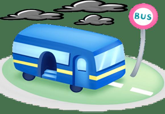 Jogar-perto-parada-de-ônibus