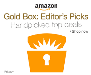 Today's Amazon Gold Box Deals