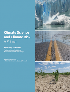 """Climate Science and Climate Risk: A Primer"" by Kerry Emanuel is written for nonscientists. (Image Credit: Oceans at MIT) Click to Enlarge."