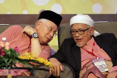 Image result for Gambar Hadi dan Najib
