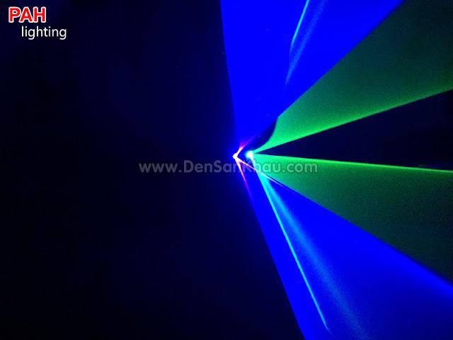 Hiệu ứng đèn tia laser Bicolor Blue Green