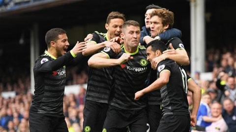 Chelsea giành chiến thắng thuyết phục trước Everton